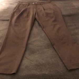 Silky slacks